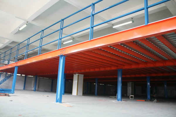 仓储作业中,钢结构阁楼货架的角色很重要