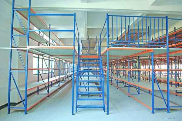 钢结构阁楼货架所具有的用途
